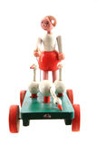 Old wooden toy Stock Images
