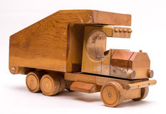 Old Wooden Toy Truck Stock Photos