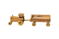 Old Wooden Tractor Stock Photos