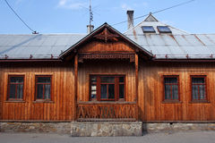 Old wooden traditional house Royalty Free Stock Photography