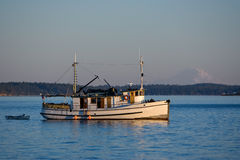 Old Wooden Trawler Coastal Boat Royalty Free Stock Photography