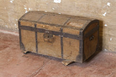 Old wooden trunk Royalty Free Stock Photos