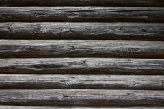Old wooden trunk wall Royalty Free Stock Images