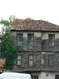 Bolu Turkey historic mansion. From Old and wooden Turkish historic mansion in Bolu Royalty Free Stock Photography