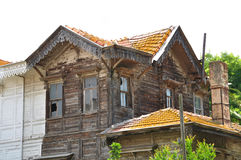 Old wooden villas Royalty Free Stock Photography