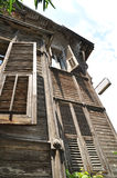 Old wooden villas Stock Photography