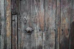 Old Wooden Vintage Gate. Stock Image
