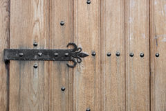 Old Wooden Vintage Gate. Royalty Free Stock Photos