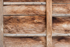 Old Wooden Vintage Gate. Royalty Free Stock Photo
