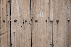 Old Wooden Vintage Gate. Royalty Free Stock Images