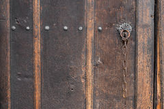 Old Wooden Vintage Gate. Stock Images