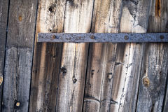 Old Wooden Vintage Gate. Texture Background royalty free stock image