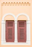 Old wooden vintage window Royalty Free Stock Photo
