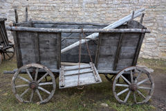 Old wooden waggon Stock Photos