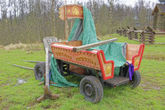 Old wooden waggon Royalty Free Stock Image