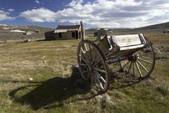 Old wooden wagon. Old wagon, Bodie California Stock Photos