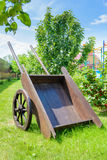 Old wooden wagon Royalty Free Stock Photos