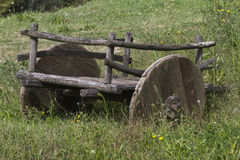 Old wooden wagon Royalty Free Stock Image
