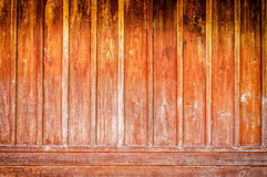 Old wooden wal Royalty Free Stock Images