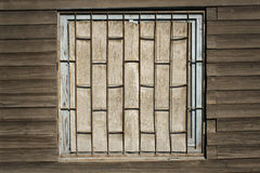 Old wooden wall as background Stock Photos