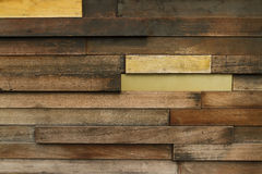 Old wooden wall background Royalty Free Stock Photos