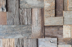 Old wooden wall background. From many tree Royalty Free Stock Photography
