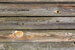 Old wooden wall background Stock Image