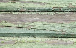 Old wooden wall with cracked paint Royalty Free Stock Photo