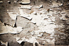 Old wooden wall in cracks Royalty Free Stock Images