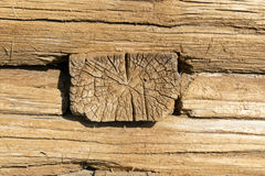 Old wooden wall. Royalty Free Stock Image