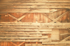 Old wooden wall frame Royalty Free Stock Photography