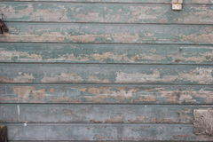 Old wooden wall, in need of paint Stock Photo