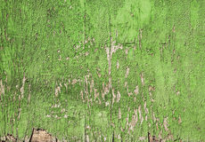 Old wooden wall painted in brown with crack grunge, background Royalty Free Stock Photo