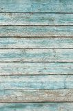 Old wooden wall painted pale blue Stock Photo
