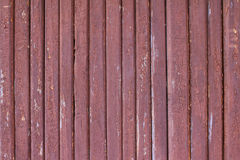 Old wooden wall. Old wooden red  wall Backgrounds Royalty Free Stock Photography