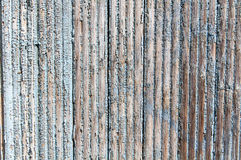 Old wooden wall with shabby blue paint Stock Image