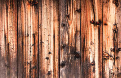 Old wooden wall. Texture. Background. Stock Photography