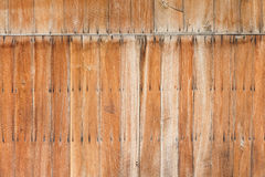 Old wooden wall texture Royalty Free Stock Images