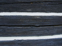 Old wooden wall texture. With two color, white and black Stock Images