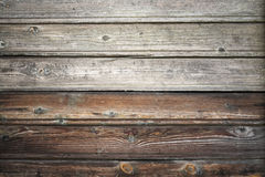 Old wooden wall, vintage background texture Stock Photo