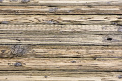 Old wooden wall weathered splintered Stock Photography
