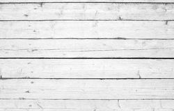 Old wooden wall with white paint, background photo Royalty Free Stock Image
