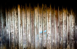 Old wooden walls Stock Images