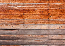 Old wooden walls of home Royalty Free Stock Image