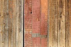 Old wooden washed out wall. Horizontal Stock Photos