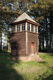 Old Wooden Watch Tower, Auschwitz Royalty Free Stock Image
