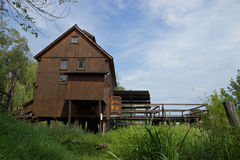 Old Wooden Water Mill Royalty Free Stock Images