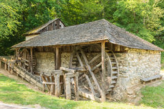 Old Wooden Watermill Stock Image