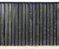 Old wooden weathered fence panel Stock Photo