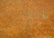 Old wooden weave, Thai style Royalty Free Stock Photos